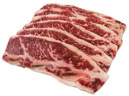 5 lbs BEEF BRAISING RIBS (2.27kgs)
