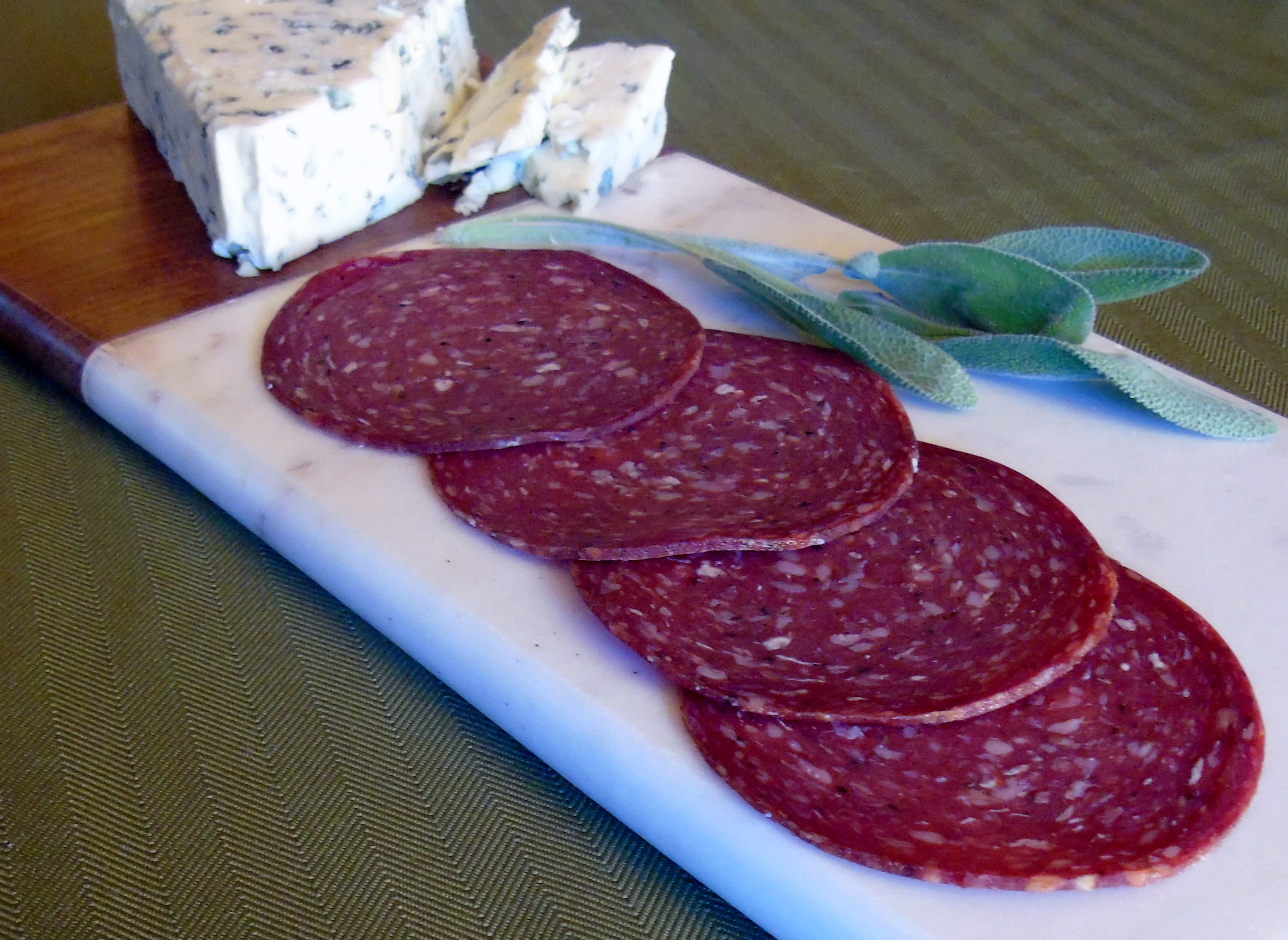 1 Lb Summer Sausage - Grass-fed Beef