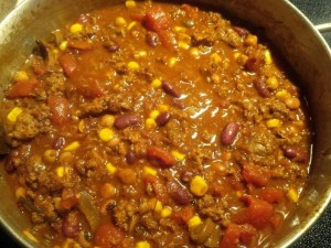 Southwest Mixed Meat Chili