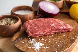 5 lbs BEEF BAVETTE (BIB) Steaks (2.27kgs)